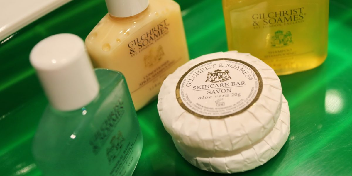 Luxury Gilchrist & Soames Toiletries